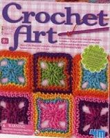 4M-Projects Crochet Art Kit Fabric Craft and Activity #3625