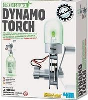4M-Projects Dynamo Torch Green Science Kit Science Engineering Kit #3645