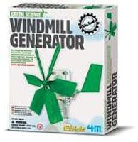 4M-Projects Windmill Generator Green Science Kit Science Engineering Kit #3649