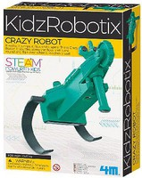 4M-Projects Crazy Robot Kit (Jumps/Flips/Spins)