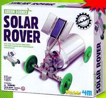 4M-Projects Solar Rover Green Science Kit Science Engineering Kit #3782