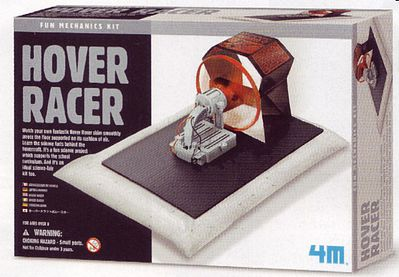 4M Project Kits Hover Racer Kit -- Science Engineering Kit -- #3796