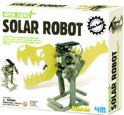 4M Project Kits Solar Robot Green Science Kit -- Science Engineering Kit -- #3797