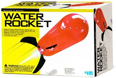 4M Project Kits Water Rocket Kit -- Science Engineering Kit -- #4605