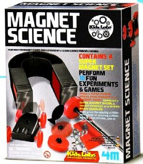 4M Project Kits Magnet Science Experiment Kit -- Science Experiment Kit -- #4684