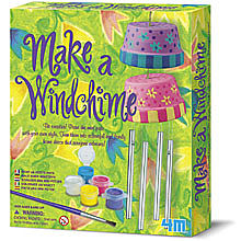 4M Project Kits Make a Wind Chime Kit -- Activity Craft Kit -- #4824