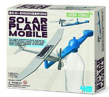 4M-Projects Eco-Engineering- Solar Plane Mobile Green Science Kit