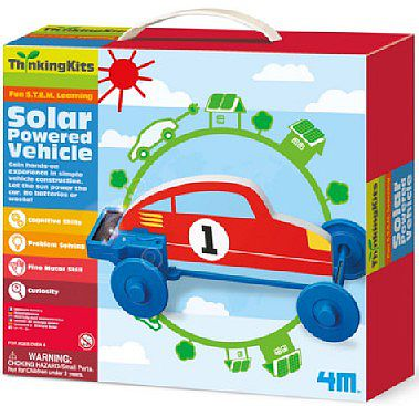 4M Project Kits Solar Powered Vehicle Green Science Kit
