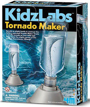 4M Project Kits Tornado Maker Science Kit -- Educational Science Kit -- #5554