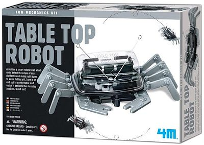 4M Project Kits Table Top Robot Kit -- Science Engineering Kit -- #5576