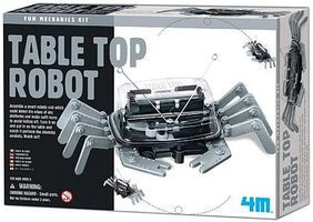4M-Projects Table Top Robot Kit Science Engineering Kit #5576
