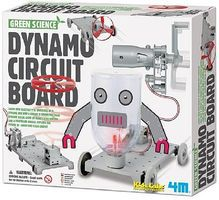 4M-Projects Dynamo Circuit Board Green Science Kit Science Engineering Kit #5580