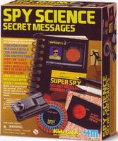 4M-Projects Spy Science Secret Message Kit Educational Science Kit #5592
