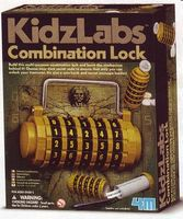 4M-Projects Combination Lock (Multi-Purpose) Kit