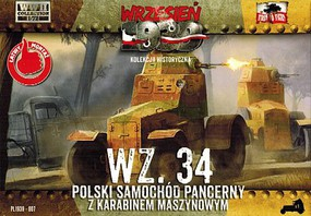 First-To-Fight 1/72 WZ34 Polish Armored Car