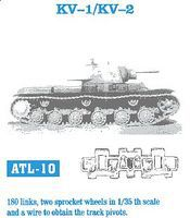 Fruilmodel KV1/KV2 Tank Track Link Set (180 Links) Plastic Model Tank Tracks 1/35 Scale #10