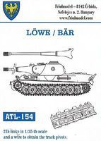 Fruilmodel 1/35 Lowe/Bar Track Set (224 Links)