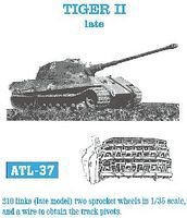 Fruilmodel Tiger II Late Tank Track Link Set (210 Links) Plastic Model Tank Tracks 1/35 Scale #37