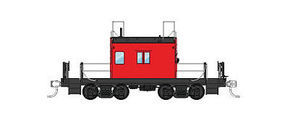 Fox Milwaukee Road Transfer Caboose HO Scale Model Train Freight Car #31157
