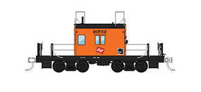 Fox Transfer Caboose Milwaukee Road #01752 HO Scale Model Train Freight Car #31161