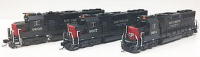 Fox EMD GP60 Early Version - Standard DC Southern Pacific #9600 (gray, red) - N-Scale