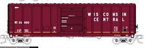 Fox P-S 5344 Single Door Boxcar Wisconsin Central #25001 N Scale Model Train Freight Car #81262