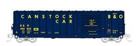 Fox 50 Canstock Boxcar Baltimore & Ohio #480804 N Scale Model Train Freight Car #81901