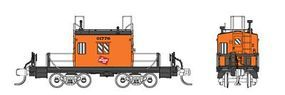 Fox Transfer Caboose Milwaukee Road #1 N Scale Model Train Freight Car #91153
