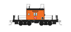 Fox Transfer Caboose Milwaukee Road #999030 N Scale Model Train Freight Car #91163