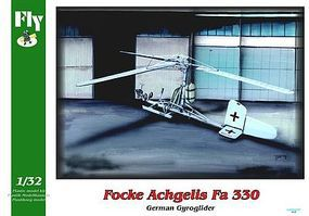 Fly-Models Focke Achgelis FA330 German Gyrocopter Plastic Model Helicopter Kit 1/32 Scale #32007