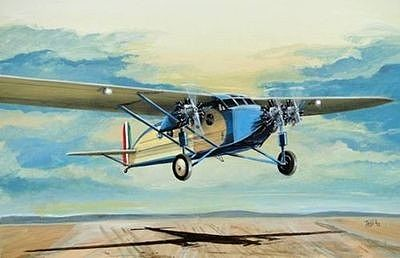 Fly Models Caproni Ca101 Light Bomber/Transport Aircraft -- Plastic Model Airplane Kit -- 1/72 Scale -- #72013