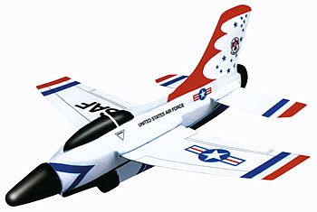 Gayla Industries 10'' Wingspan Thunderbird Super Sonic Jet w/Trigger Launcher