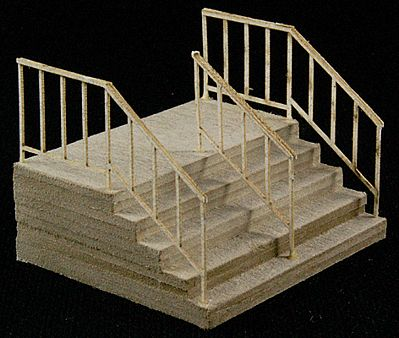 GC Laser Double-Wide Stair -- The Cube Modular System Component Kit -- HO Scale -- #11604