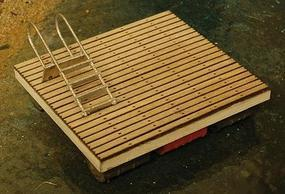 GCLaser Swimming Platform - Kit (Laser-Cut Wood) HO Scale Model Railroad Accessory #1266