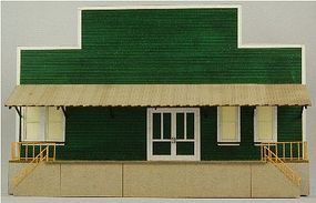 GCLaser Produce Packing Flat Background Building Kit Building B HO Scale Model Building #19014