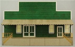 GCLaser Produce Packing Flat Background Building Kit Building D HO Scale Model Building #19016