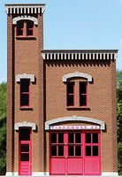 GCLaser Firehouse #3 Backdrop Kit HO Scale Model Building #190241