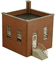 GCLaser Factory Guard House Kit HO-Scale Model Building #19030
