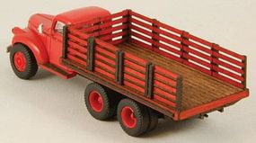 GCLaser Stake Truck Bed (Laser-Cut Wood Kit) HO Scale Vehicle Accessory #19046