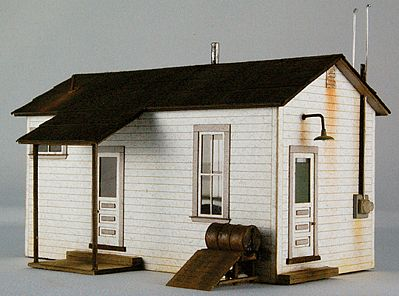 GC Laser Team Yard Office Kit -- HO Scale Model Building -- #1909
