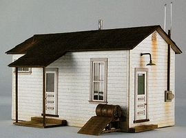 GCLaser Team Yard Office Kit HO Scale Model Building #1909