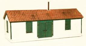 GCLaser Shim Shed Kit (Laser-Cut Wood) N Scale Model Railroad Accessory #297