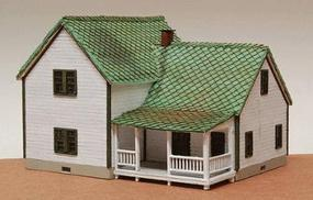 GCLaser Farm House - N-Scale