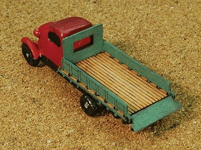 GC Laser TNSA Truck Bed (Material) -- Z Scale Model Railroad Vehicle -- #52784