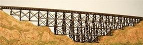 GCLaser Wood Trestle - Z-Scale