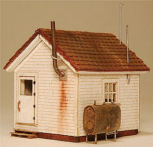 GC Laser West End Shack Kit -- N-Scale -- #901