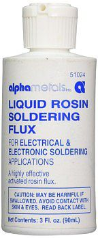 GC Products Liquid Rosin Soldering Flux 3oz Bottle (Alpha)