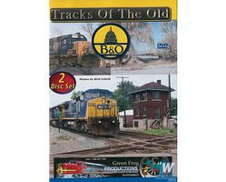 Greenfrog Tracks of the Old B&O DVD - 2 Disc Set