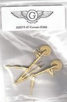 G-Factor F4U Corsair White Bronze Landing Gear for Tamiya Plastic Model Aircraft Parts 1/32 #32027