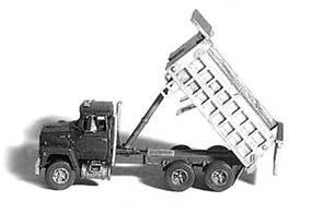 GHQ Ford 9000 Dump Truck Kit N Scale Model Railroad Vehicle #53013